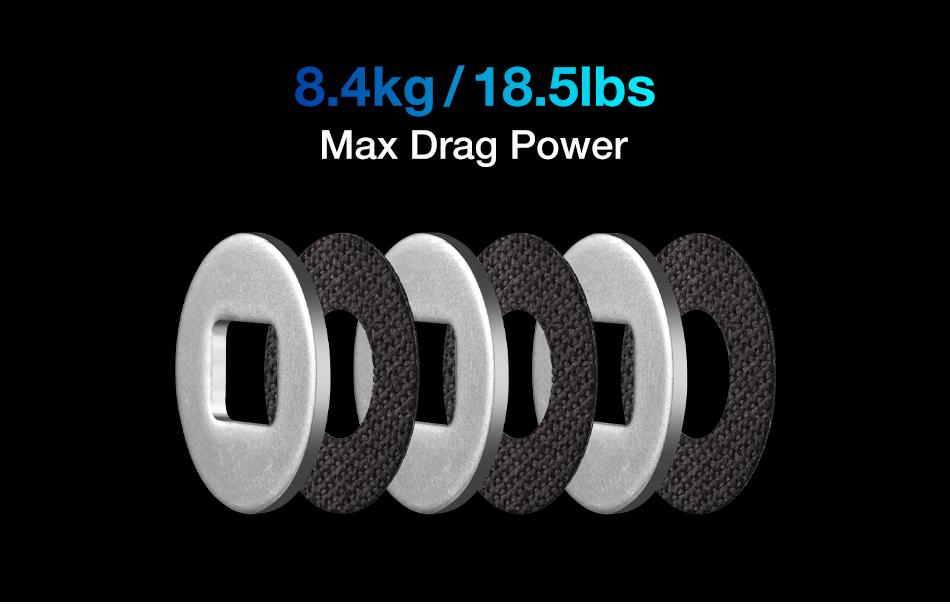 8.4KG Bearings BRL Drag 6