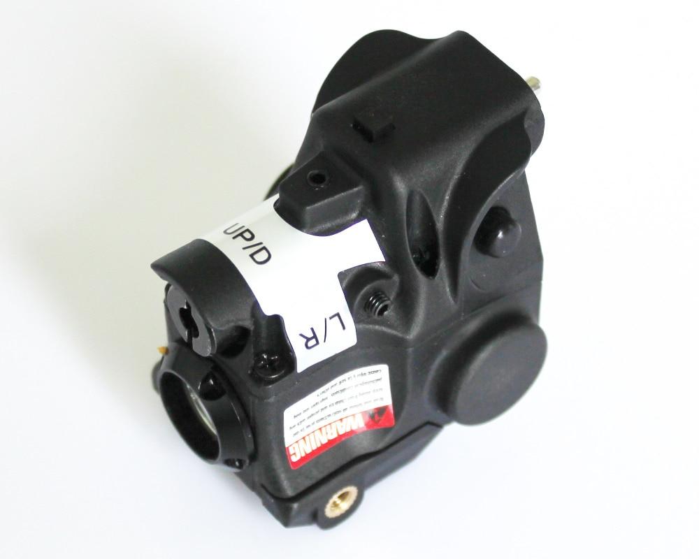 Self defense 5mw 532nm pistol green laser sight and flashlight combo for glock beretta