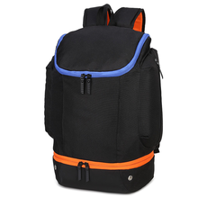 Backpack Harajuku Style Trend Outdoor Sports Basketball Large Capacity Solid Color Travel bag