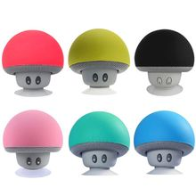 Protable Mini Wireless Bluetooth Speaker Waterproof MP3 Music Player with Mic Stereo Mushroom For Phone PC Z2