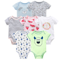 kavkas vetement bebe summer 2019 7PCS/lot baby boy roupas de bebe recien nacido infant boysl ropa 0 3 6 9 12M newborn clothes