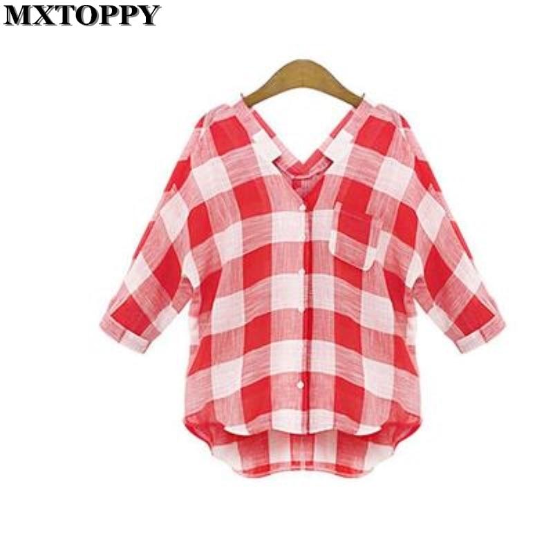 Online Get Cheap Womens Checkered Shirt -Aliexpress.com   Alibaba ...