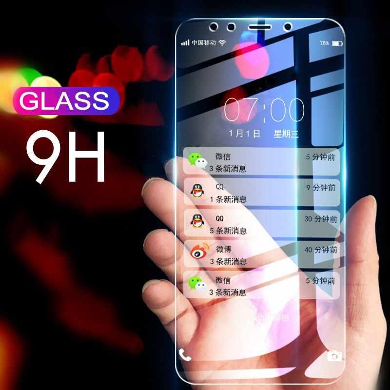2 قطعة/الوحدة الزجاج المقسى لسامسونج غالاكسي A8 J5 J4 J6 J7 J8 A6 زائد J250 A9 J2 2018 واقي للشاشة واقية