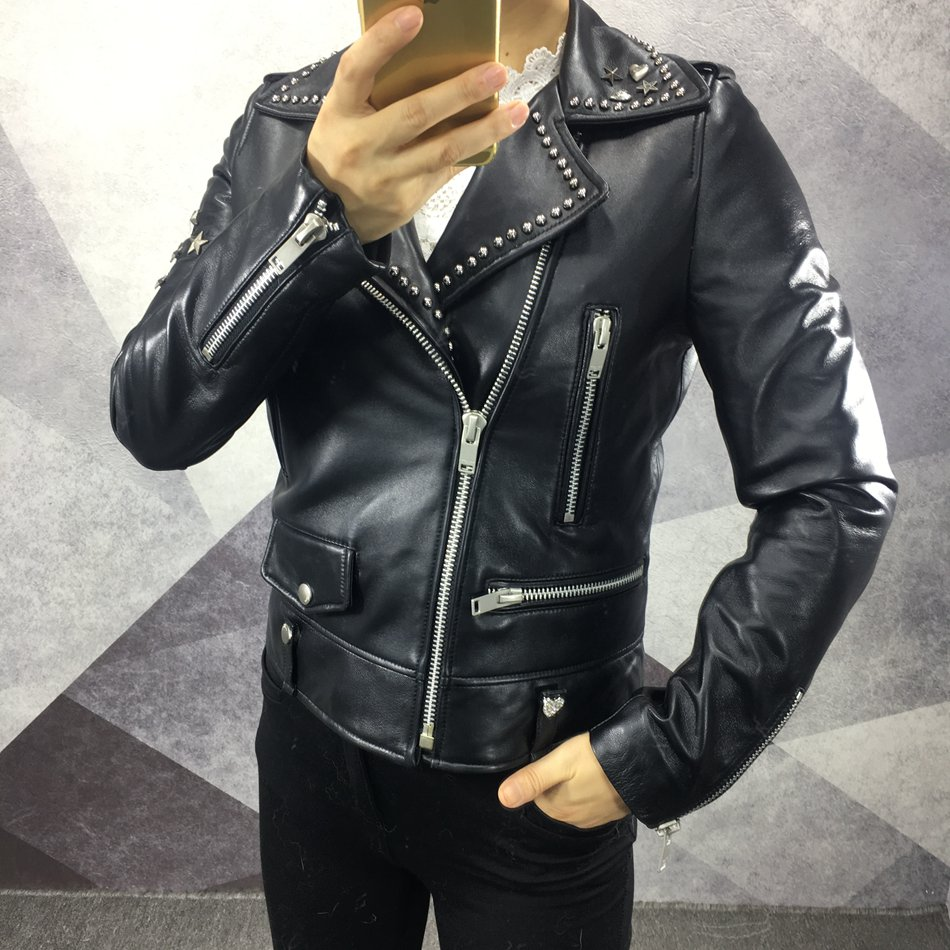 genuine leather jacket ladies (2)