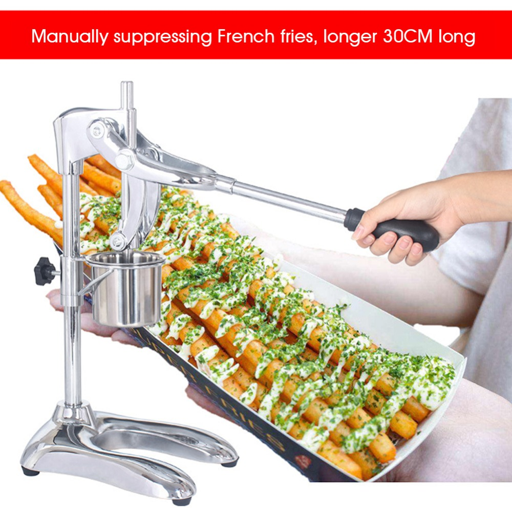 Manual French Fries Machine Squeezer Potatoes Slush Meat Slicer Electric Nuts Roasting Liquid Filling Juice Dispenser Soda Water