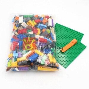 Image 3 - Ważenie zestaw klocków posiłek DIY kreatywny luzem cegły zabawki dla dzieci klocki edukacyjne dla dzieci prezent na boże narodzenie losowo 500g