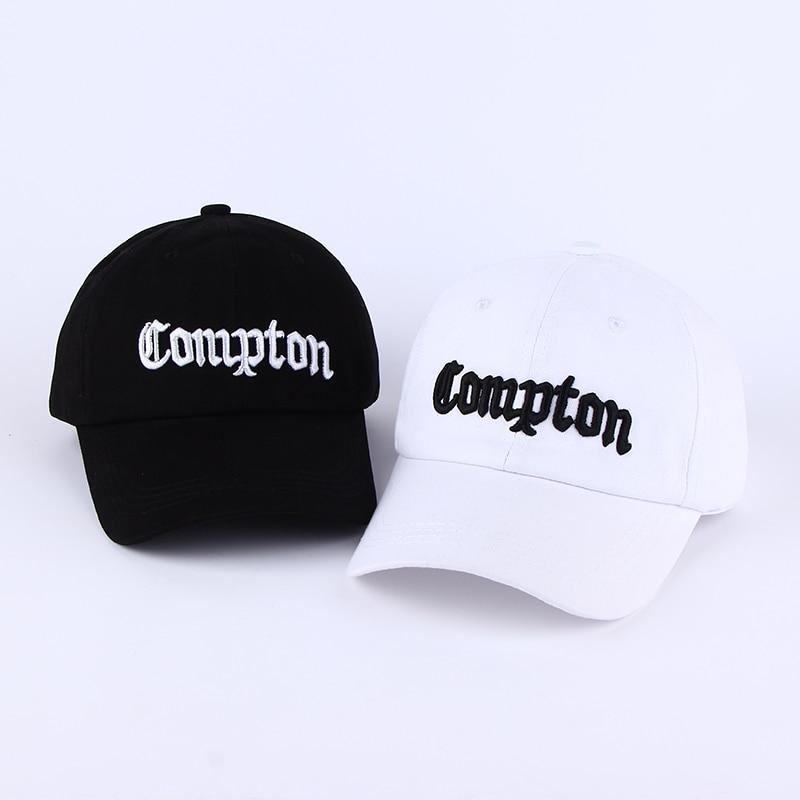 Boné de beisebol compton skate marca snapback chapéus de golfe para homens mulher hip hop osso aba reta casquette de marca touca chapeu