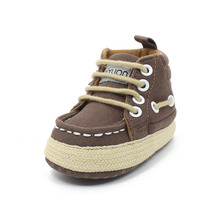 Unique Baby Shoes For 0-15 Newborn Infant Toddler Lace-up First High Quality Soft Sole Walkers Canvas