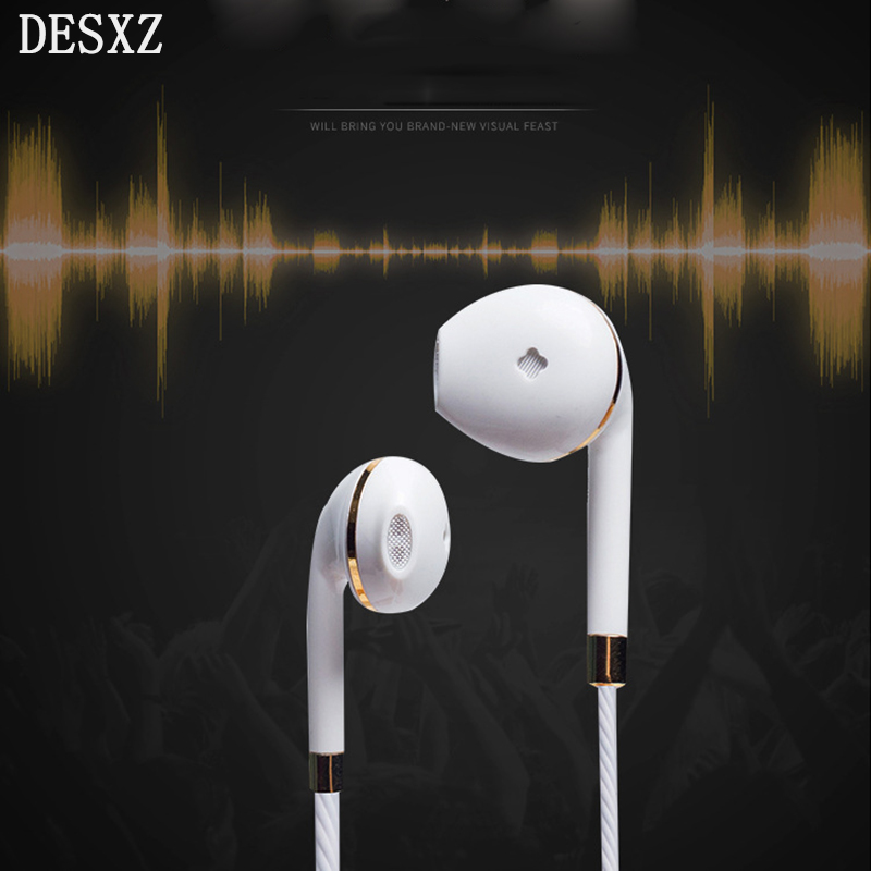 Desxz Phone Earphones for apple Stereo Earbuds Wired Headset Sport for Earpods Airpods Xiaomi MP3 Samsung Huawei