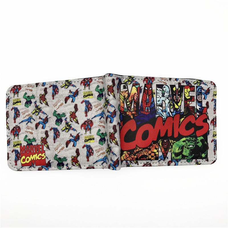 Marvel Superheroes Themed Wallet