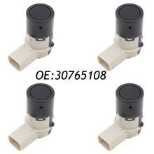 4 unids pdc sensor de aparcamiento para volvo c70 s40 s60 s80 v50 v70 v70x xc90 30765108 30668099 30668100 30765408