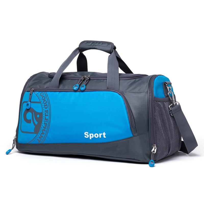 Quality Men Women Fitness Gym Bag Separated Shoes Storage Basketball Sports Bag Outdoor Travel Trip Portable Shoulder Bag HAB503