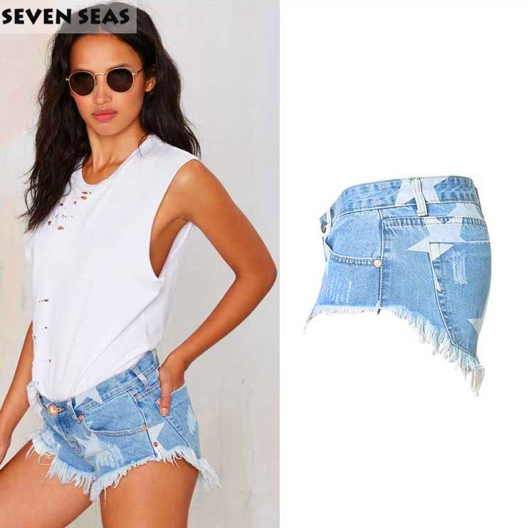 Ljeto Seksi problematične raskopčane kratke hlače Femme mujer - Ženska odjeća - Foto 3