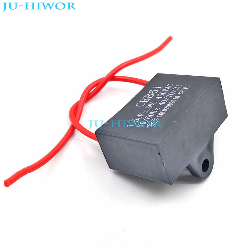 Aliexpress Com   Buy  5pcs  Lot  Cbb Capacitors 1 5uf 450v