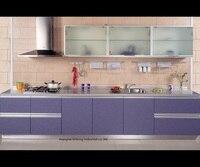 Melamine Mfc Kitchen Cabinets LH ME053