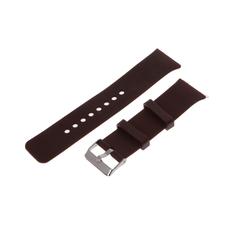 OOTDTY Silicone Wrist Band Strap Metal Buckle Bracelet Replacement For DZ09 Smart Watch new hot стоимость