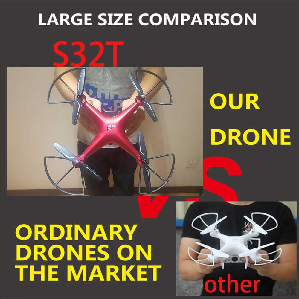 2019 Новый drone S32T вращающийся Квадрокоптер с камерой 1080 P HD аэрофотосъемка воздуха давление парение вертолет с камера дрон квадрокоптер с камерой квадрокоптер с камерой профессиона квадракоптер квадракоптер