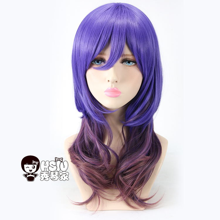 HSIU A+ Kiss Him, Not Me Cosplay Wig Kae Serinuma Costume Play Woman Adult Wigs Halloween Anime Game Hair