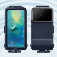 Mobile Phone full case for HUAWEI Mate 20 Pro Official Original waterproof shockproof dustproof swimming diving cases cover