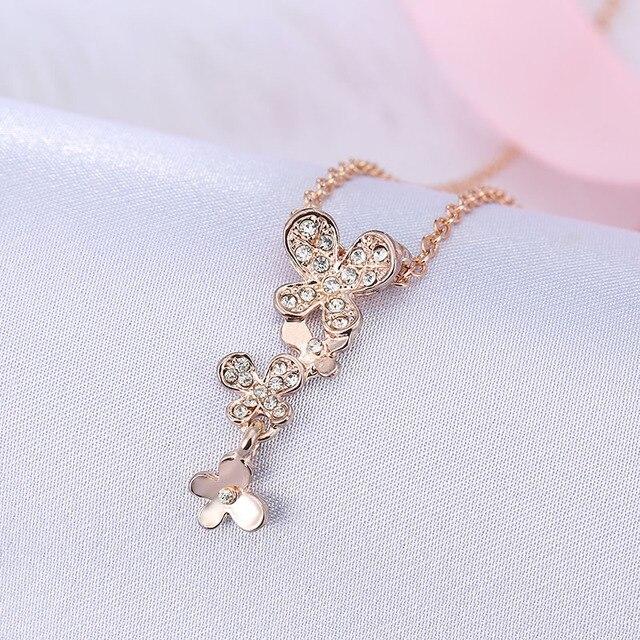 New Fashion Jewelry Imitation Gold Silver Plated Pandant Necklace