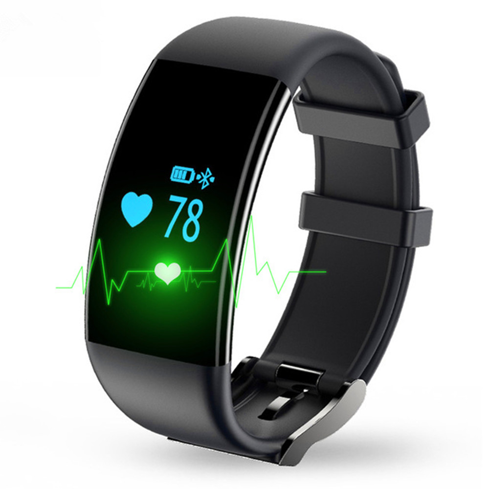 D21 Smat Band Heart Rate Monitor Smart Bracelet Waterproof Fitness Tracker Watch Clock Smartband for IOS