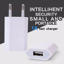 USB настенное зарядное устройство адаптер 5 в 1 А один USB порт быстрое зарядное устройство разъем для iPhone 7/6 S/6 S Plus/6 Plus