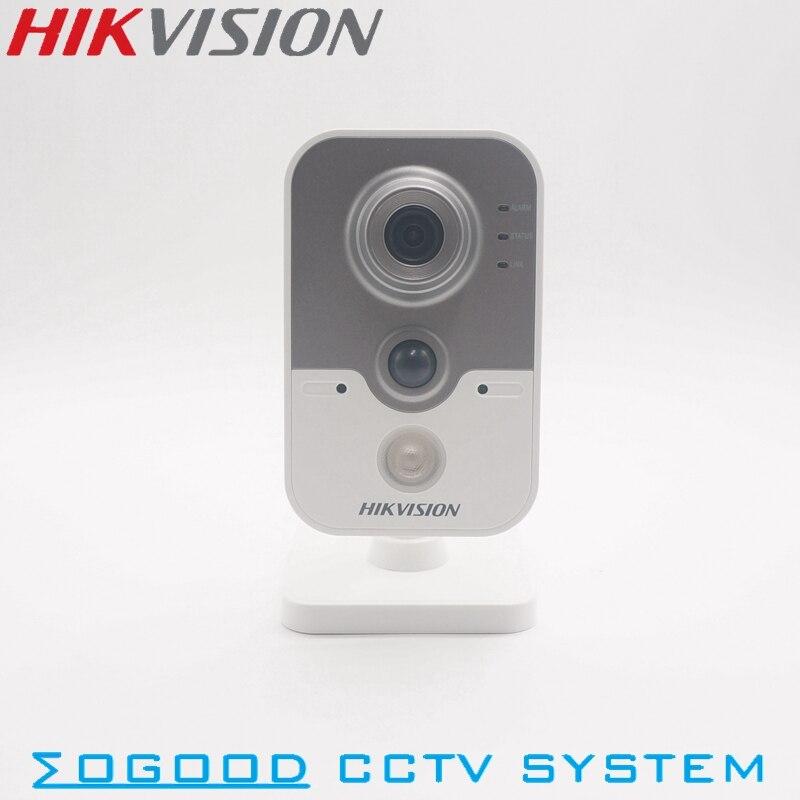 Hikvision DS-2CD2442FWD-IW 4MP International Version Cube IP Camera Support Upgrade EZVIZ P2P PoE IR 30M Home Use Wholesale