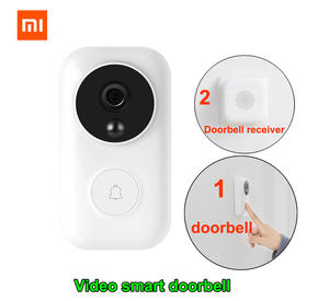 Xiaomi Doorbell-Set Ai-Face Identification WIFI IR Night-Video-Motion-Detection Self-Power-Generating