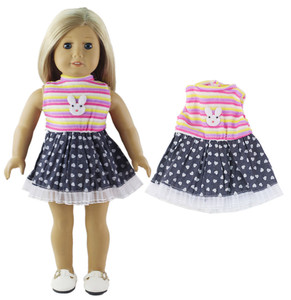 Image 5 - 5 Set Doll Clothes For 18 Inch American Doll Doll Handmade Casual Wear