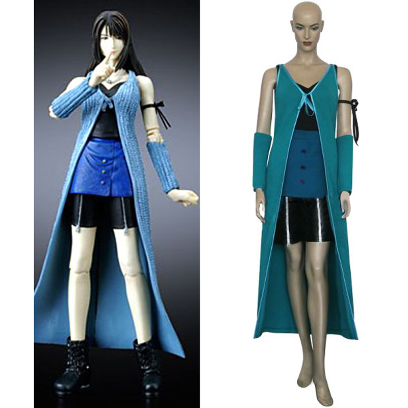 Free Shipping Final Fantasy VIII 8 Rinoa Battle Cosplay Uniform Suit Women Halloween Costumes Custom-made Any Sizes