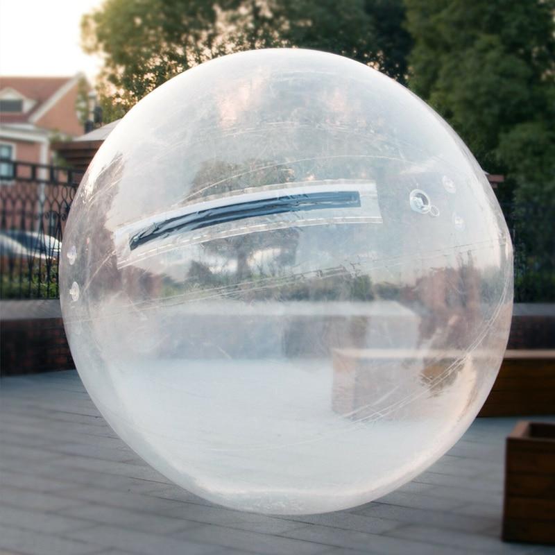 Free Shipping 2.0m Dia Inflatable Water Walking Ball Human Hamster Ball Giant Inflatable Ball Water Zorb Ball TPU Water Balloon