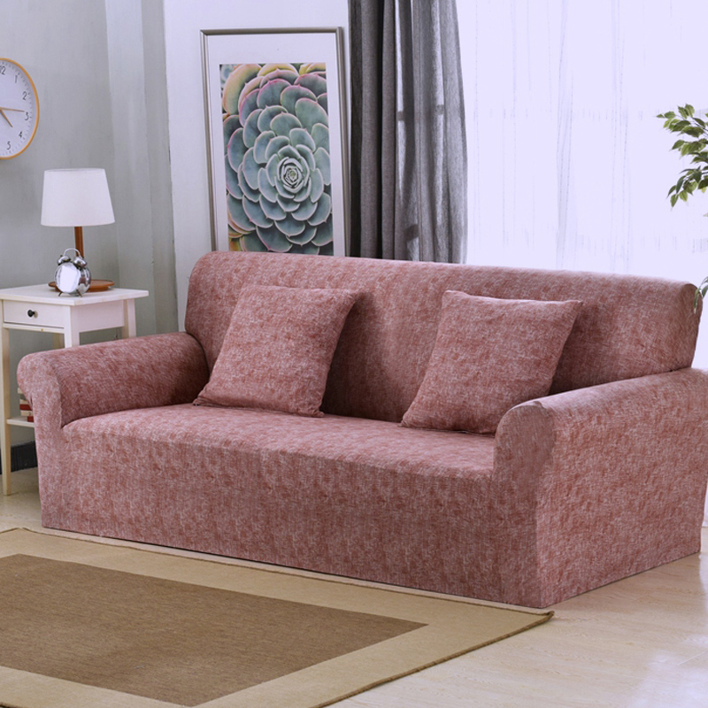 Stretchable and Wrinkle Free Couch Cover for Universal Sofa in Living Room including L shaped and Sectional Sofa