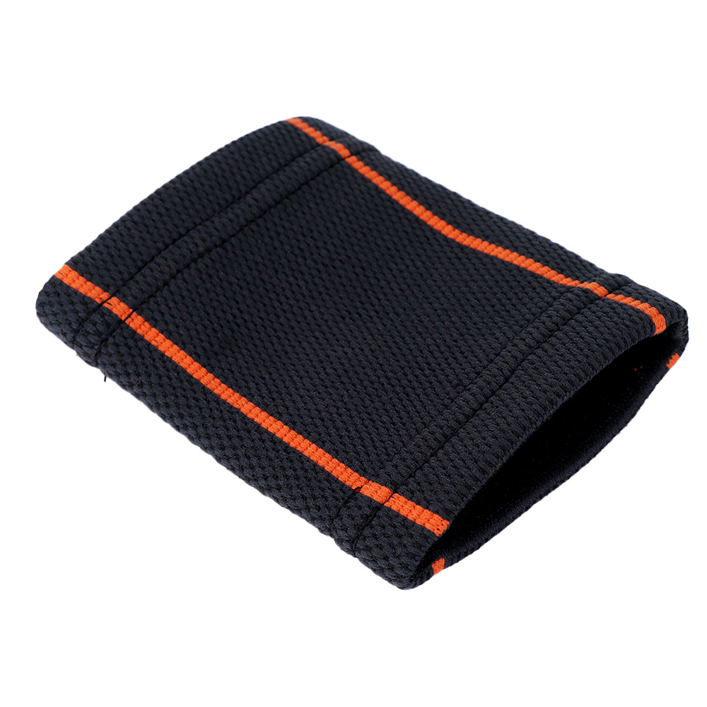 1 pc Breathable Knitted Wristbands Sport Sweatband Cotton Yarn Wrist Support Brace Wraps Guards For Gym Volleyball Basketball 2