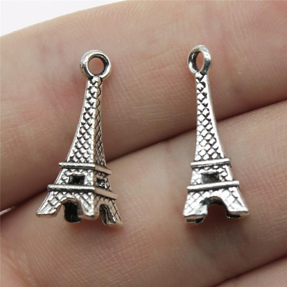 15pcs coat charms silver tone coat charms pendants 23x17mm