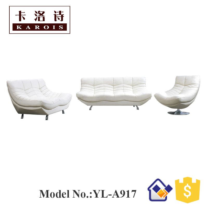 Usa Living Room Furniture White Couch Sectional Sofa Set