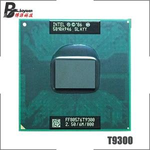 Image 1 - Intel Core 2 Duo T9300 SLAQG SLAYY 2.5 GHz Dual Core Dual Thread CPU Processor 6M 35W Socket P
