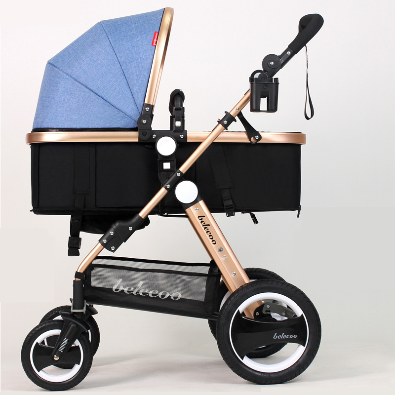 Luxury Baby Stroller Lightweight Baby Carriage Strollers Kids Pram Traval Pushchair For 6-36 Months, Kinderwagen, bebek arabasi certified baby products baby buggy stroller with pad 600d oxford fabric kids pram and strollers 4 colors infant carriage on sale
