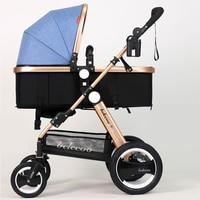 Luxury Baby Stroller Lightweight Baby Carriage Strollers Kids Pram Traval Pushchair For 6 36 Months, Kinderwagen, bebek arabasi
