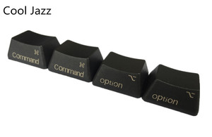 Image 5 - Oem perfil de teclado para cherry mx, boneca fria de jazz preto e cinza misto com pbt 108 87 61 adicionar chave de mac do iso