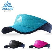 AONIJIE, уличная шляпа для мужчин и женщин, легкая Солнцезащитная шляпа для марафона, кепки для бега, альпинизма, кемпинга, пешего туризма