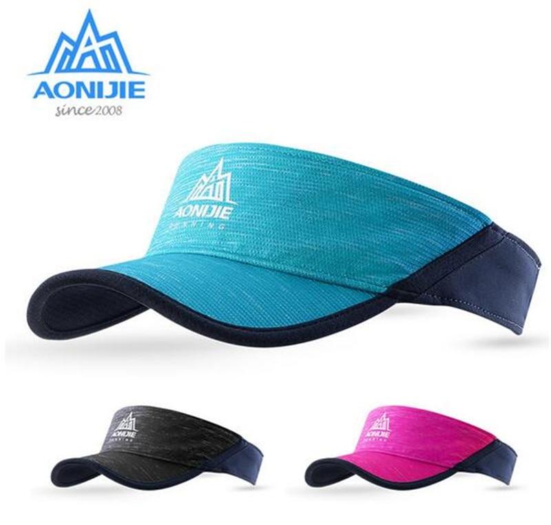 AONIJIE Outdoor Hat Men Women Lightweight Sunhat Marathon Visors Running Cap Climbing Camping Hiking