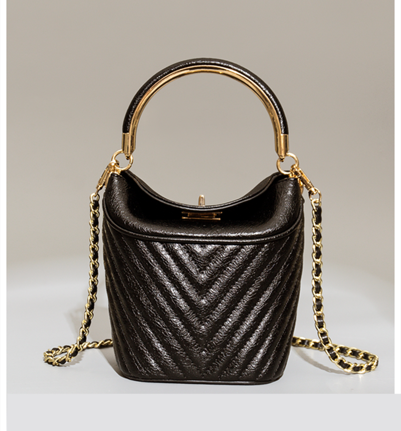 Bag For Women 2019 New Women Fashion Leather Handbags Women Luxury Designer Chain Bucket Bag Women Leather Shoulder BagsBag For Women 2019 New Women Fashion Leather Handbags Women Luxury Designer Chain Bucket Bag Women Leather Shoulder Bags