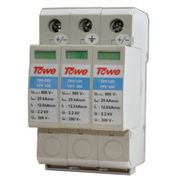 TOWE AP C25 YPV600 PV Systems 600V DC System Power Class C Protection 3 Modulus Imax