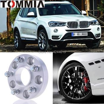 Fits BMW X3 2PCS Wheel Hub Centric Spacers Tire Adapters Rims Flange 5x120 Center Bore 72.6mm Aluminum