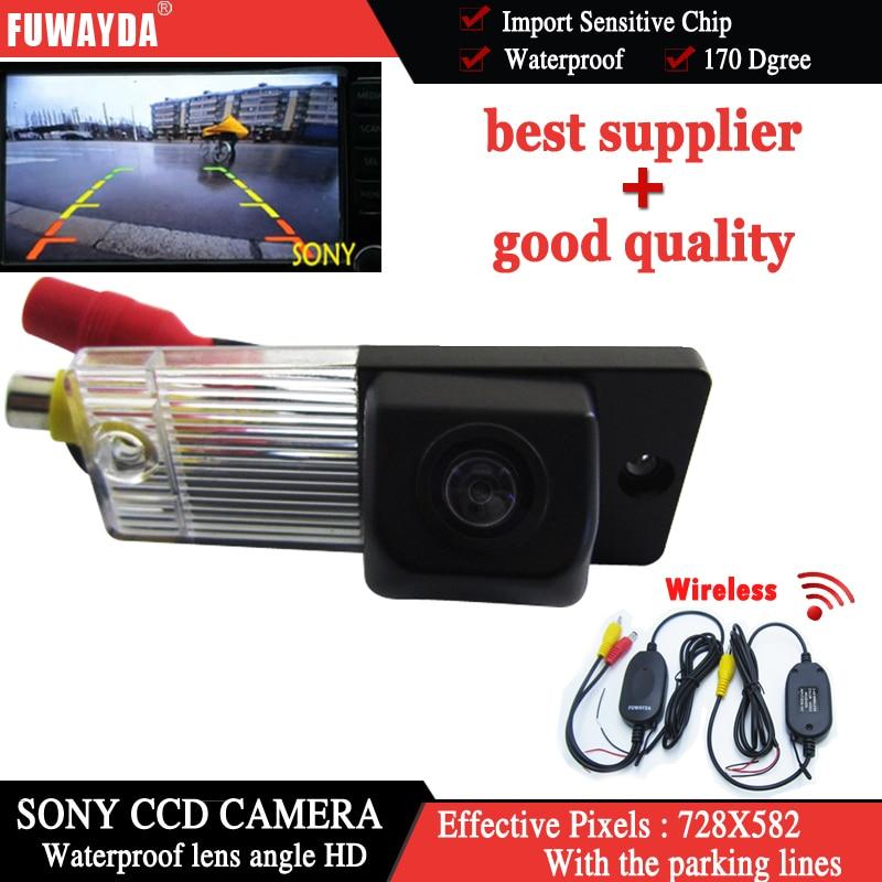 FUWAYDA Wireless SONY CCD Chip Car Rear View Reverse Back UP DVD GPS Navigation Kits CAMERA for Kia Cerato KIA CERATO WATERPROOF|car rear view reverse|car rear reverse cameracar wireless reverse camera - title=