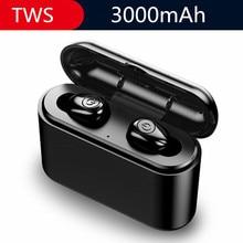 X8 TWS Mini Bluetooth Earphones Wireless Earbuds Stereo Headsets With MIC 3000mAh Charging box For Xiaomi IPhone 5 6 7 8 XS Max aimitek w9 tws bluetooth 5 0 earphones mini true wireless stereo earbuds handsfree headsets with mic charging box for smartphone