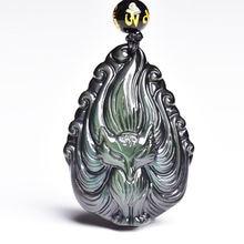 Ювелирный кулон с девятью хвостами лисой мужское ожерелье натуральная