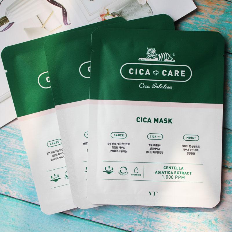 VT CICA CARE SOLUTION MASK 25ml*10ea Korea Cosmetic
