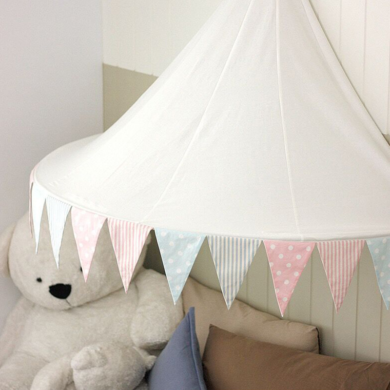 YARD Children Play Tent Teepees Hanging Kids Play Tent Children Foldable Playhouse Tent with Mesh foldable basketball tent
