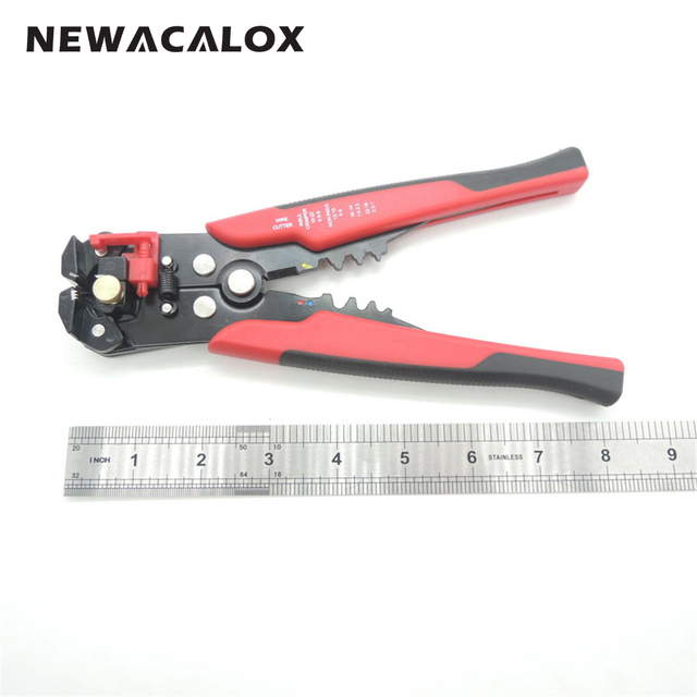 Cable Wire Stripper Cutter Crimper Automatic Multifunctional Crimping Stripping Pliers Tools Electric